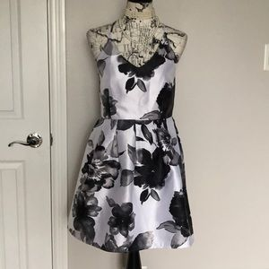 Dresses & Skirts - Floral Straps Pleated Crisscross Fit Flare Casual